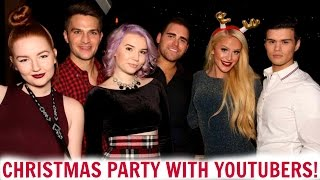 getlinkyoutube.com-VLOGMAS PARTY WITH YOUTUBERS! | VLOGMAS #2