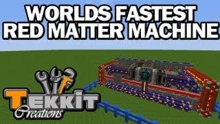 getlinkyoutube.com-Tekkit Creations - Worlds Fastest Red Matter Machine