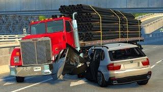 getlinkyoutube.com-Deadly Crashes - BeamNG DRIVE