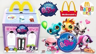 getlinkyoutube.com-Хэппи Мил / Happy Meal McDonald's [Littlest Pet Shop / Литл пет шоп] 2015