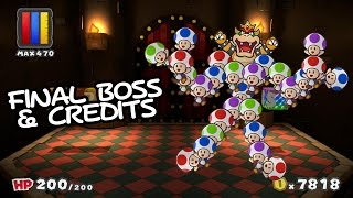 getlinkyoutube.com-Paper Mario: Color Splash - Final Boss & Credits