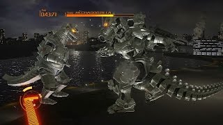 getlinkyoutube.com-Godzilla King of Kaiju Mode - Type-3 Kiryu Gameplay