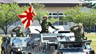 getlinkyoutube.com-【陸上自衛隊】-着剣- 陸軍分列行進曲(扶桑歌・抜刀隊)で観閲行進|Japanese Army Parade JGSDF