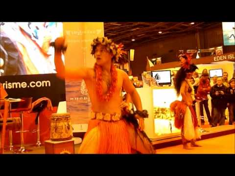 Danses Tahitiennes au Salon Nautique de Paris