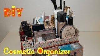 DIY Makeup Organizer / Kosmetik Organizer selber machen / DIY cosmetic organizer