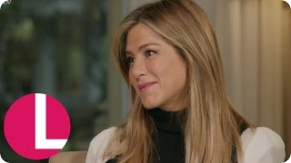 getlinkyoutube.com-Extended: Jennifer Aniston Talks Friends Reunion, Office Christmas Party & Justin Theroux | Lorraine