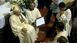 Cerimonia di presentazione Nuovo Parroco Don Angelo Bennardis