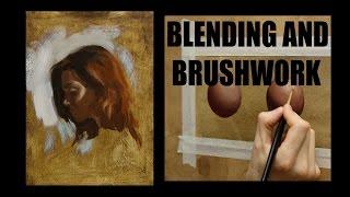 getlinkyoutube.com-Oil painting techniques : Blending and brushwork