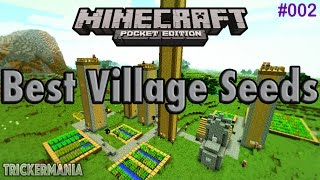 getlinkyoutube.com-[MCPE 0.15.0] BEST VILLAGE SEEDS