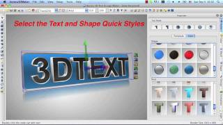 getlinkyoutube.com-Aurora 3D Maker for Mac - Create 3D Text, Logo, Title Animation and Effects.