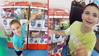 VLOG - Machines à Pinces, Jeux et Distributeurs de Boules Surprises - Fun Indoor HAPPY CITY