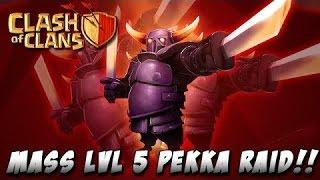 getlinkyoutube.com-Фан атака на кв пекками 5+/ Fans attack at cw Pekka 5+