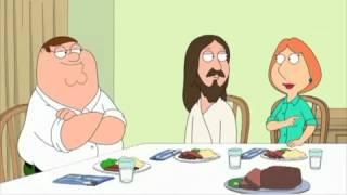 getlinkyoutube.com-Family Guy - Dinner with Jesus