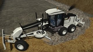 getlinkyoutube.com-Chantier / Travaux / Baustelle #1 : Farming Simulator 2011