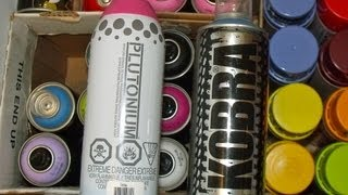 getlinkyoutube.com-PLUTONIUM & KOBRA Spray Paint CAP TEST