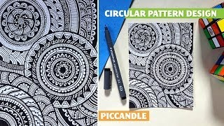 getlinkyoutube.com-Doodle - Circular Pattern Design [Mandala]