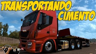 IVECO 460 EQUIPADO, TRANSPORTANDO CIMENTO - SP/MG - G27!!!