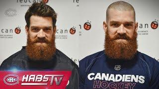 Canadiens Shaved Head Challenge