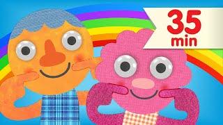 getlinkyoutube.com-If You're Happy | + More Favorite Children's Songs