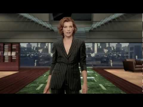Milla Jovovich introduces the Zegna in_STORE