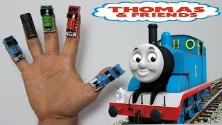 getlinkyoutube.com-Thomas and Friends Finger Family Song (Daddy Finger) with REAL Toys