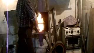 getlinkyoutube.com-Изготовление ножа, часть первая - ковка