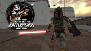 Star Wars Battlefront II Mods (PC) HD: Jedi Outcast: Bespin Streets