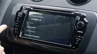 getlinkyoutube.com-Seat ibiza 6j Android Radio Navi