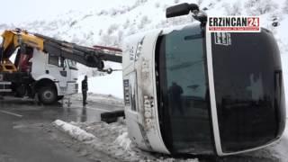 Erzincan-Erzurum Karayolunda Ulaşım Normale Döndü
