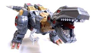 getlinkyoutube.com-【ダイノボット FOC グリムロック】っぽい人 バルカン ヲタファのTF非正規レビュー Planet X PX-06 Vulcun not Grimlock