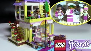 getlinkyoutube.com-Lego Friends Stephanie and Kate 41037 LEGO House Collection - Kids' Toys