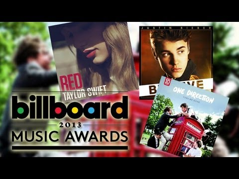 Justin Bieber vs One Direction vs Taylor Swift - 2013 Billbo
