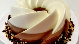 getlinkyoutube.com-Reteta Tort Trei Ciocolate - طورط بثلاث انواع من الشوكولاطة