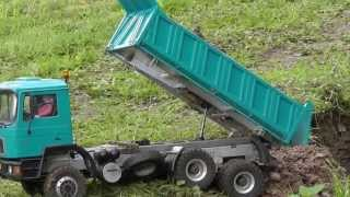 getlinkyoutube.com-M.A.N. 6x6 TRUCK l RC TRUCK l RC TIPPER l MAN TIPPER l BEST MACHINES l