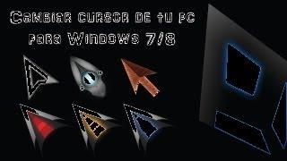 getlinkyoutube.com-Tutorial: Personalizar el diseño del cursor o puntero de tu PC [HD].