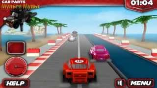 getlinkyoutube.com-GAMES Lego CARS 2 Lightning McQueen