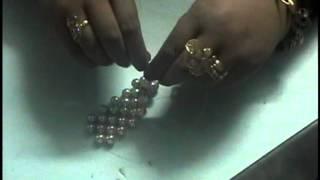 getlinkyoutube.com-طريقة عمل علبة المناديل باللولى   جنات حسين