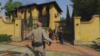 getlinkyoutube.com-GTA V - Officer Trevor Gets Betrayed