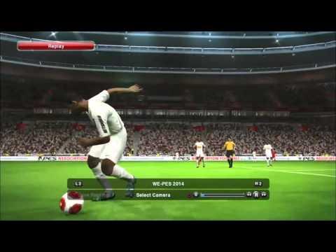 PES 2014 Геймплей на E3 2013 (Бавария - Сантос) / PS3
