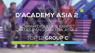 getlinkyoutube.com-Soimah Digulung Karpet di Atas Panggung D'Academy Asia 2