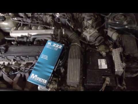 Rover 214i Замена воздушного фильтра, самодельные свечные провода