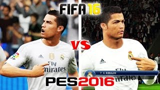 getlinkyoutube.com-FIFA 16 vs. PES 16: Celebrations