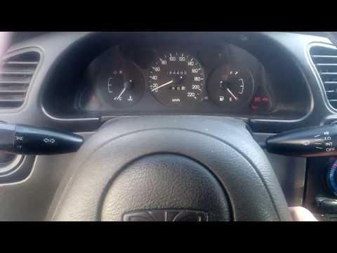 Daewoo Sens - нет дальнего света - ремонт