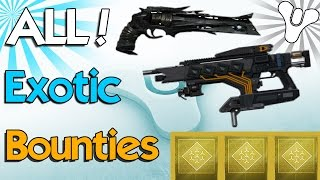 getlinkyoutube.com-Destiny: How to Get & Complete All Exotic Weapon Bounties! (Destiny Exotic Weapons)