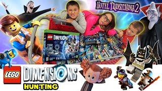LEGO Dimensions Hunting @ Target before Hotel Transylvania 2 Movie (Family Fun Day on Sunday!)