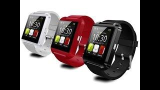 getlinkyoutube.com-Smartwatch U8 Relogio Inteligente Bluetooth Android Iphone - TIOCHICOSHOP