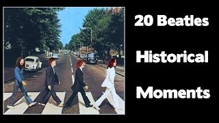 getlinkyoutube.com-20 BEATLES HISTORIC MOMENTS - THE MOVIE