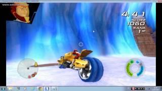 getlinkyoutube.com-Wii emulador - Hot Wheels Battle Force 5 ( Chopper )
