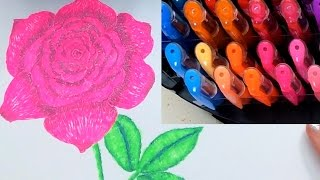 getlinkyoutube.com-Gel Pens 102 - Coloring and Blending Basics