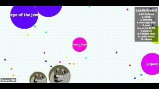 Awesomedude Plays Agar.io